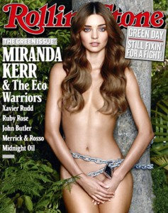 green celebrity of the month miranda kerr Green Celebrity of the Month   Miranda Kerr