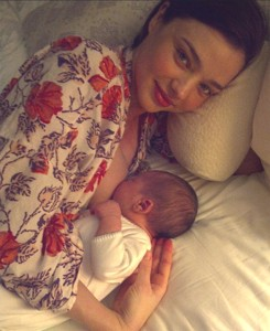 Miranda Kerr Gives Birth to a Healthy Boy